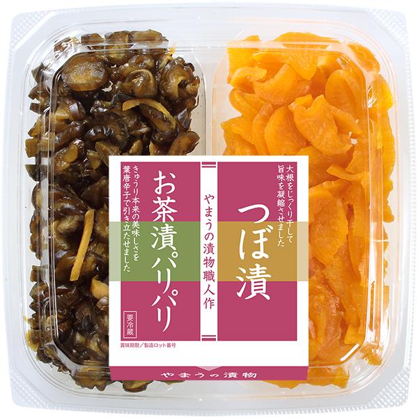 二色 お茶漬パリパリ・つぼ漬 100g (M)